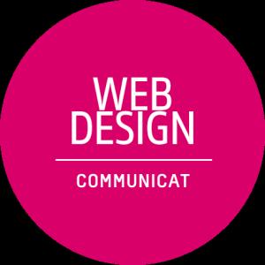 Deutsches Badge: Web-Design by Communicat