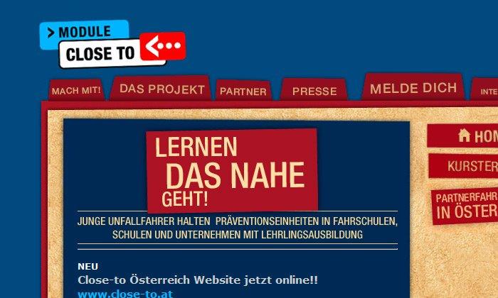 Module Close To Website