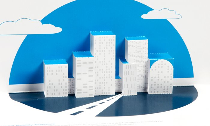 SIMPLI-CITY Pop-up Card