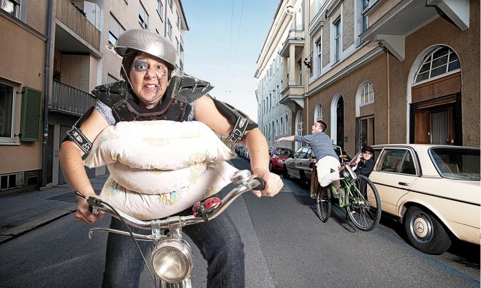 """Fotografie """"Mythos: Radfahren ist gefährlich"""""""